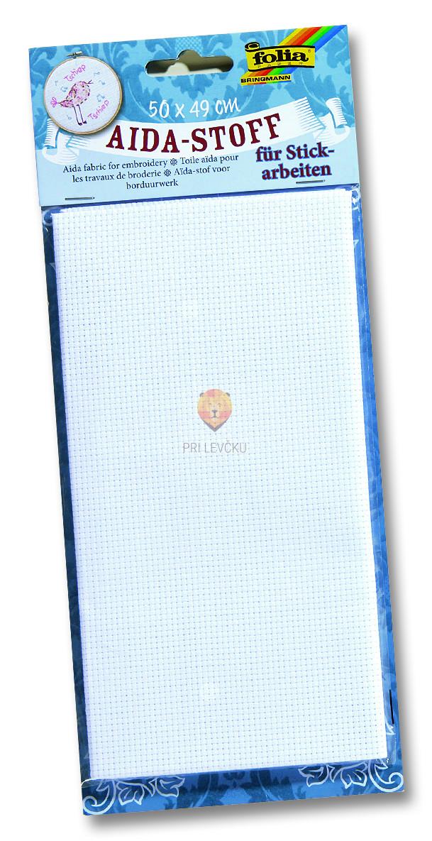 Tkanina za vezenje, 50 cm x 49 cm