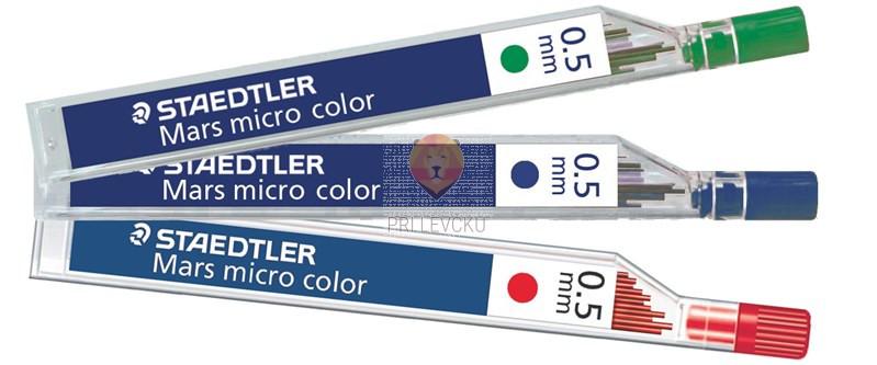 Barvne mine za tehnični svinčnik 0,5 mm