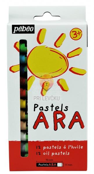 Oljni pasteli ARA 12 kos
