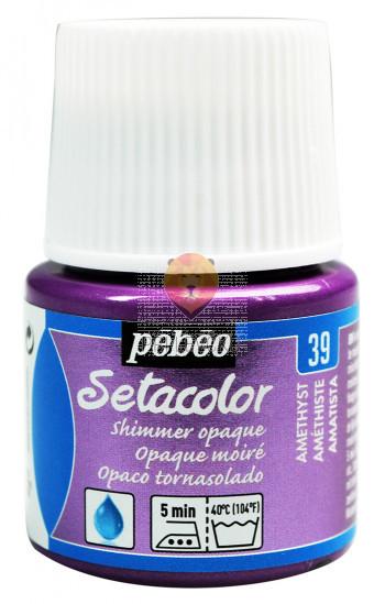 Prekrivna barva za tekstil Setacolor Shimmer 45ml