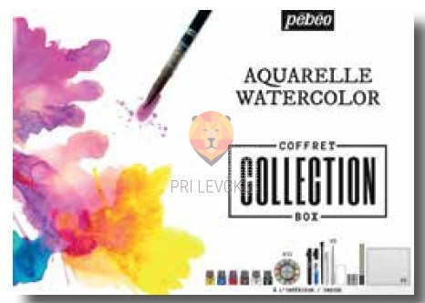 Set Aquarelle Watercolor Collection Box