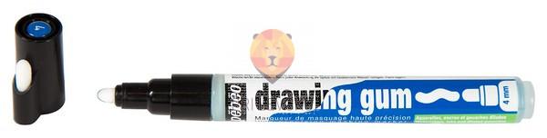 Guma za akvarelno slikanje v flomastru, 4 mm debeline