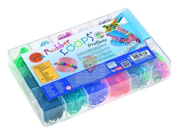 Set gumijastih vrvic v škatli 3200 kosov