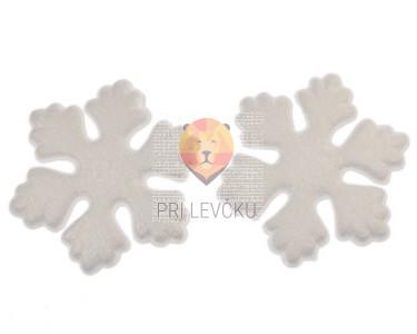 Snežinke iz stiroporja 10 cm 2 kos