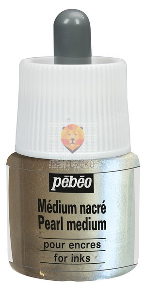 Biserni medij za akrilni tuš Medium Pearl Ink, 45 ml
