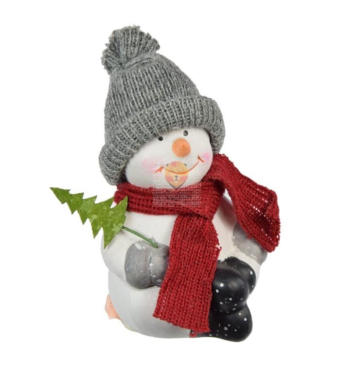 Snežak 5,5x10cm 1 kos