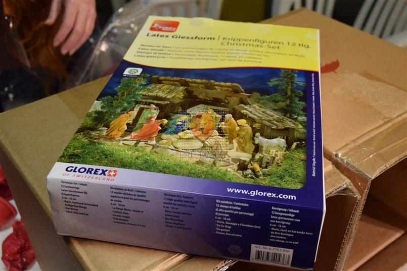Silikonski kalup za jaslice - 12 figuric-dostava Hrvaška