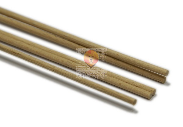 Lesena palica 4 mmx1m 1 kos
