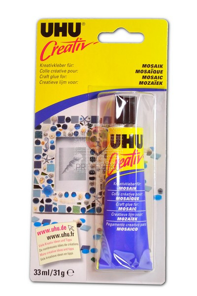 Lepilo za mozaik UHU CREATIV Mosaik 30g
