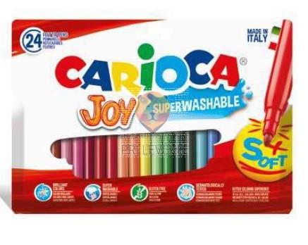 Flomastri Joy debelina konice 2,6mm 24 kosov