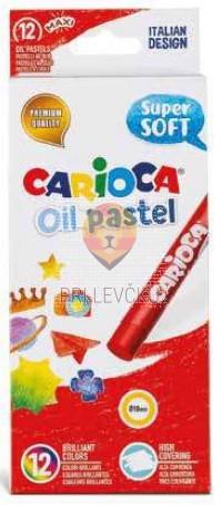 Carioca oljni pasteli super mehki 12 kosov