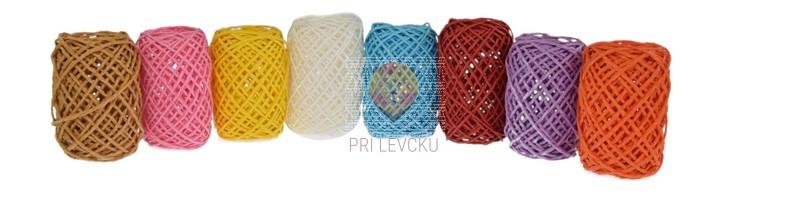 Barvna papirnata vrvica 10m