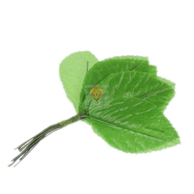 Listki zeleni 5,5cm 12 kosov