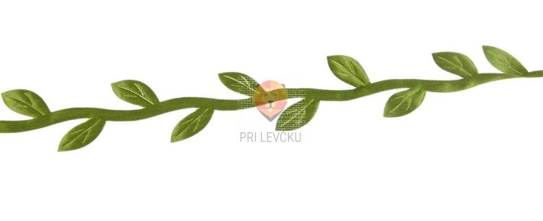 Listki zeleni na traku 2 m