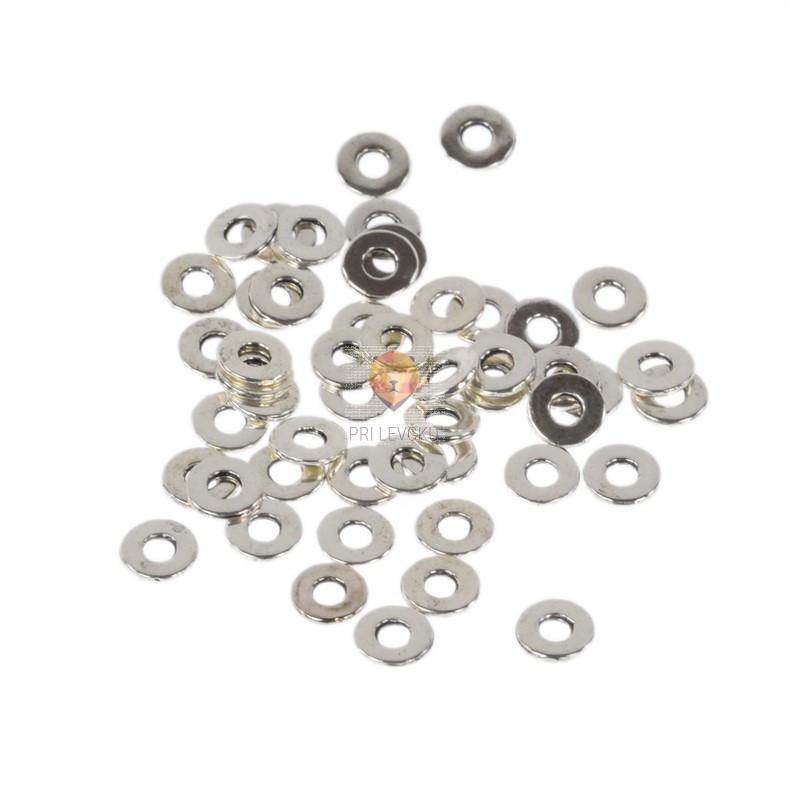 Vmesni členi okrogli ploščati 7x1mm 50 kosov
