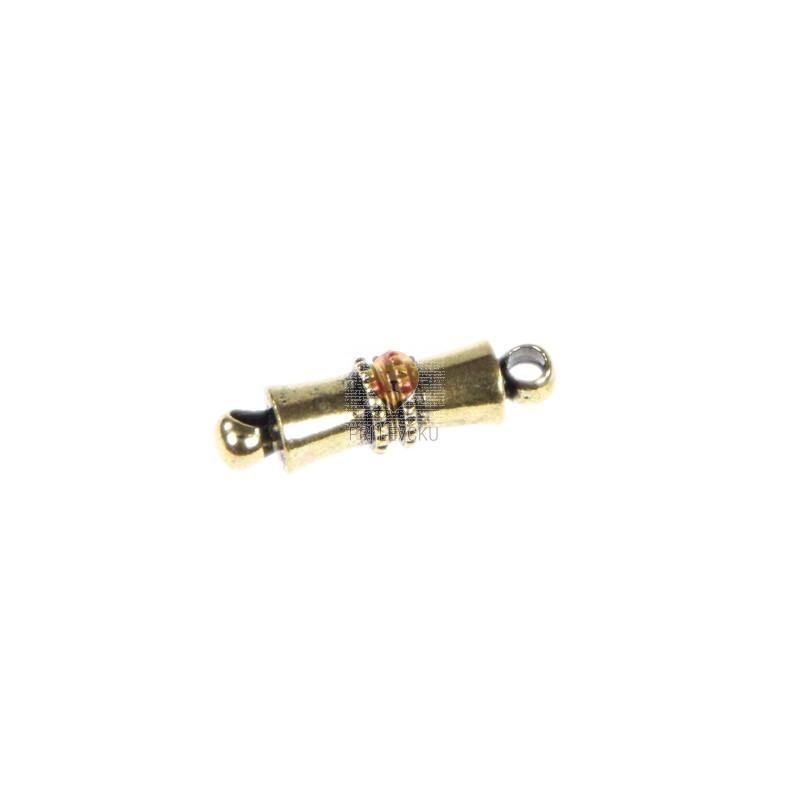 Magnetni zaključek 11x5mm barva starega zlata 1 kos