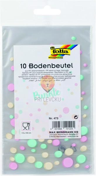 Celofan vrečke s pikami 115x190 mm 10 kosov