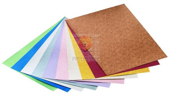 """Karton """"Metallic z nitkami,"""" 230 g/m2, 50 x 70 cm, različne barve"""