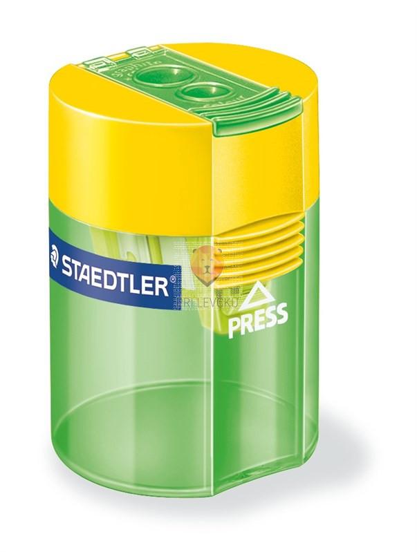 Dvojni šilček s plastičnim kontejnerjem Staedtler