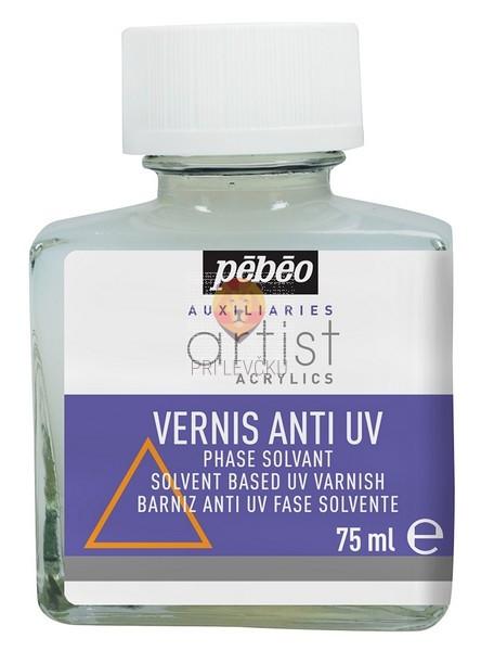 Premaz za akrilne barve ANTI UV satenski 75 ml