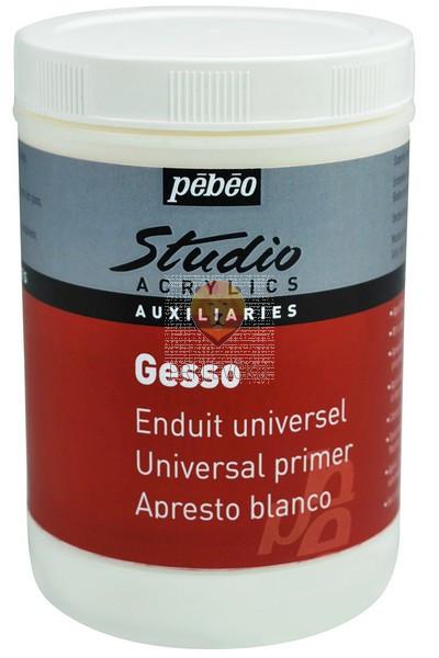 Studio Acrylics Gesso bela univerzalna akrilna podlaga 1000ml