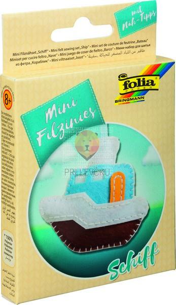 Mini filc set za šivanje Ladjica