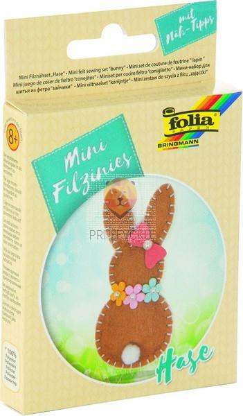 Mini filc set za šivanje Velikonočni zajček