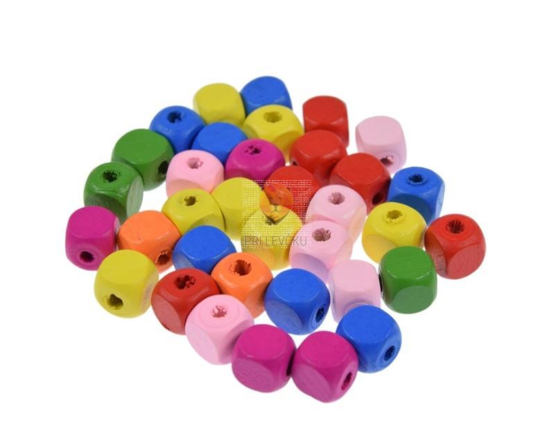 Perle lesene kocke 12,5x12,5mm 30 g