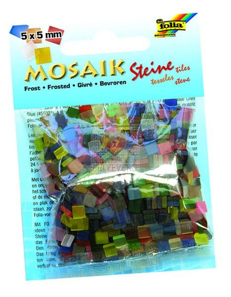 Mozaik Frost 5x5mm barvni miks 700 kosov