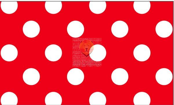 Karton s pikami rdeč 50x70cm 1 kos