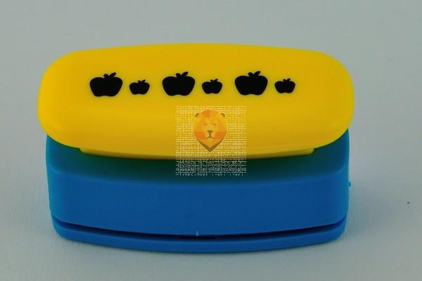 Luknjač bordura Jabolka 45mm