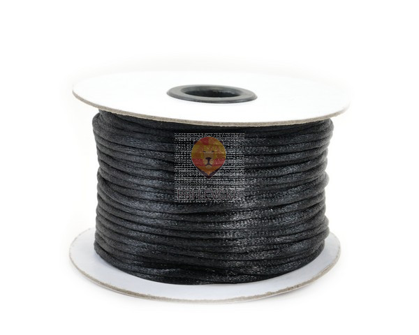 Vrvica Mišji rep črne barve 85 m