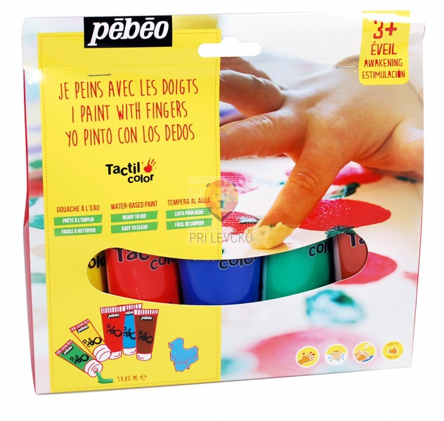 Set maksi prstnih barv - 5x80 ml