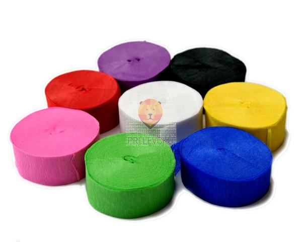Krep trak v različnih barvah