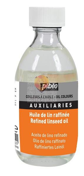 Rafinirano laneno olje za oljne barve 245ml
