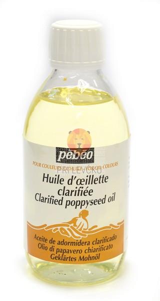 Prečiščeno makovo olje za oljne barve 245ml