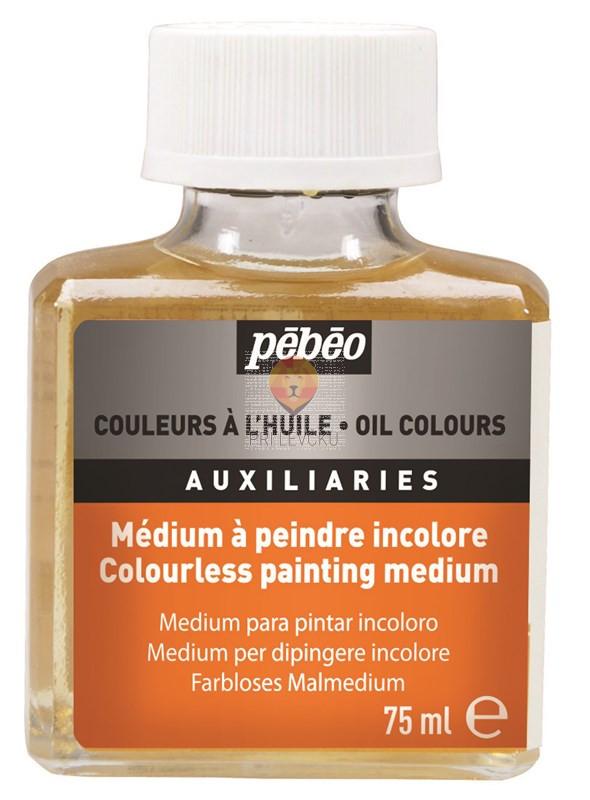 Brezbarvni slikarski medij za oljne barve 75ml