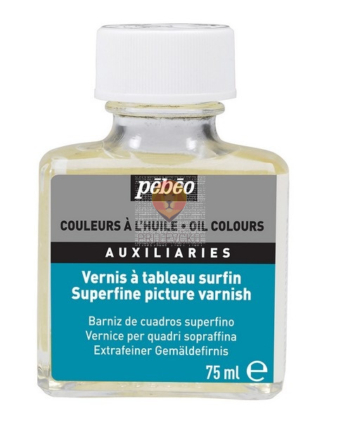 Superfini lak za oljne barve 75ml