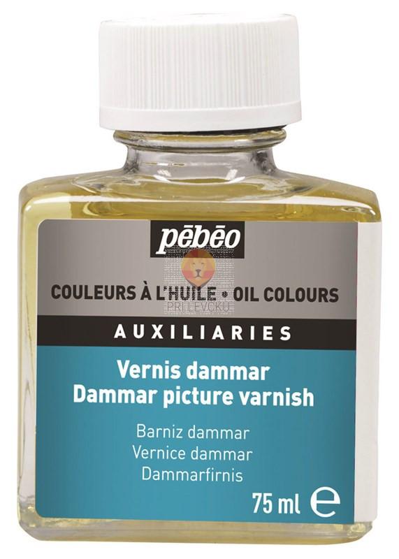 Dammar premaz za oljne barve, 75 ml