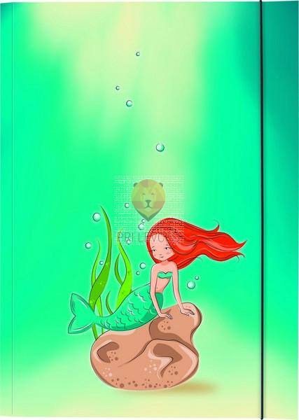 Kartonasta mapa A3 Morska deklica