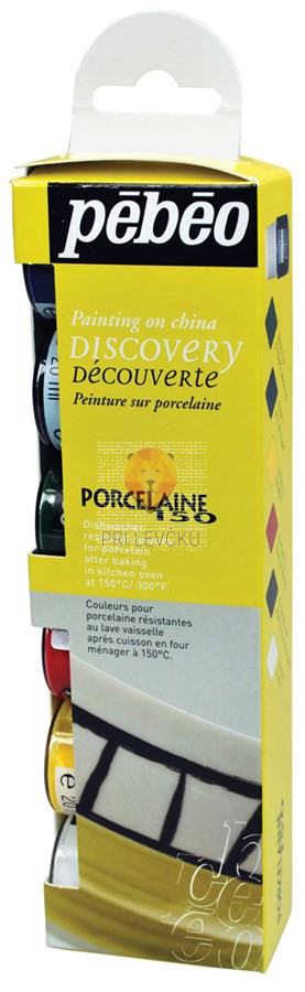Set barv za porcelan PORCELAINE150 6x20ml