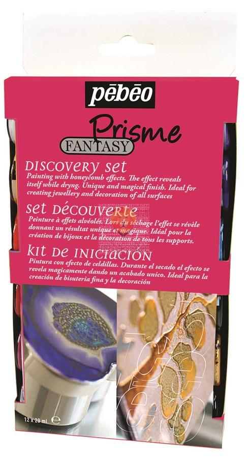 Set FANTASY PRISME barv s posebnim učinkom, 12 x 20 ml