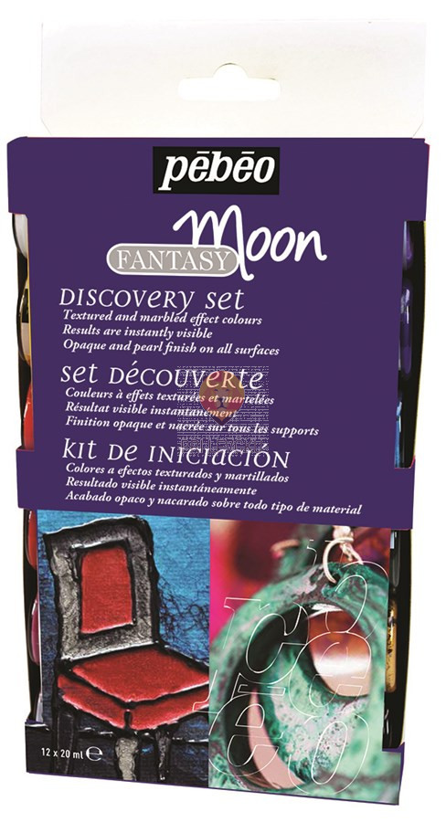 Set FANTASY MOON barve se posebnim učinkom, 12 x 20 ml