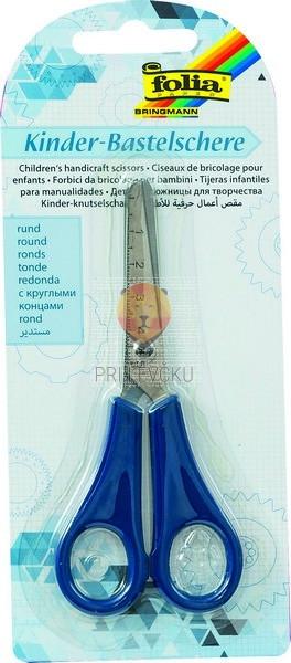 Škarje otroške zaobljene 13,5cm 1 kos