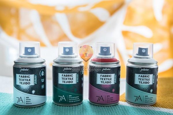 7A sprej za poslikavo tekstila 100ml