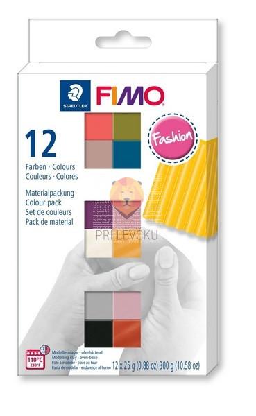 Komplet polimerne mase Fimo Soft Fashion 12x25g