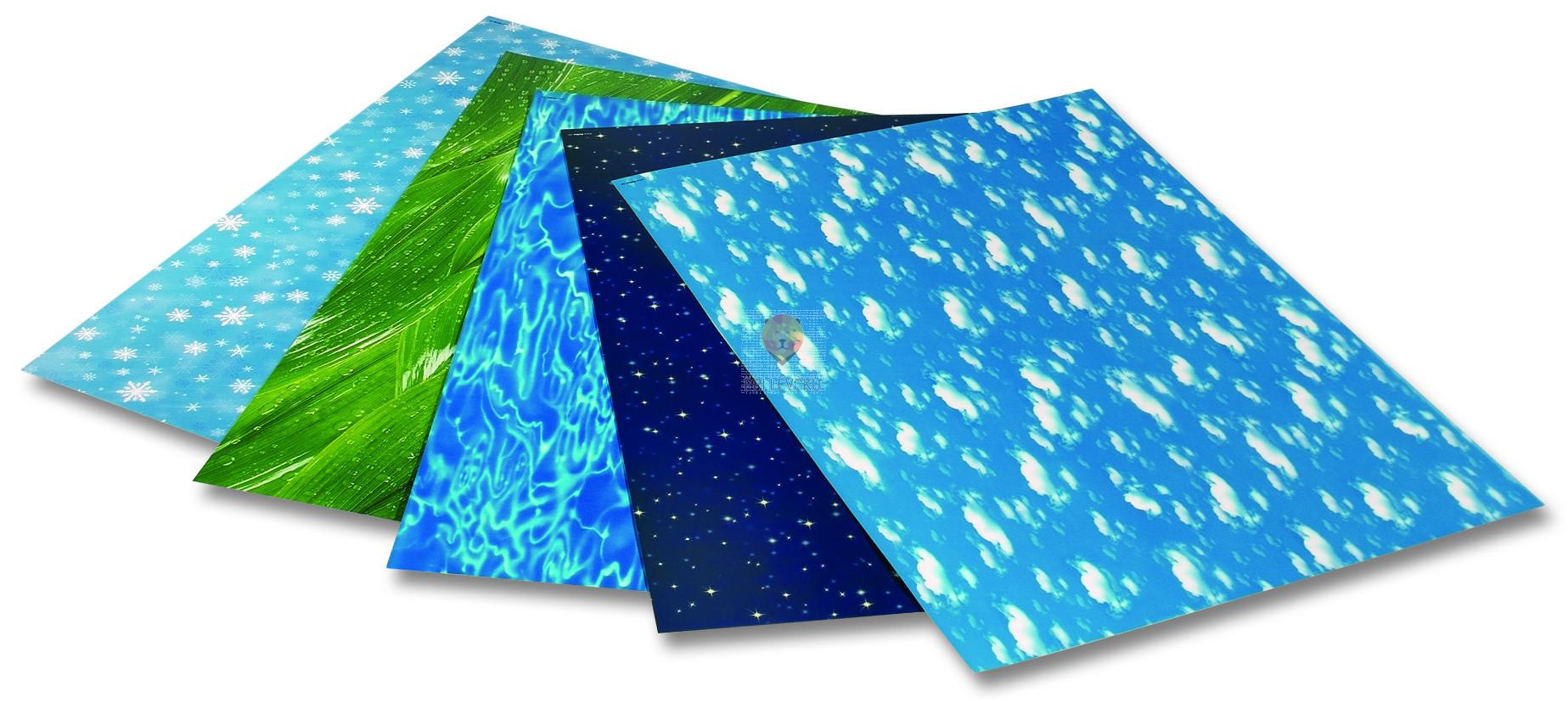 "Transparentni papir ""ELEMENTS"" - 50 cm x 70 cm"