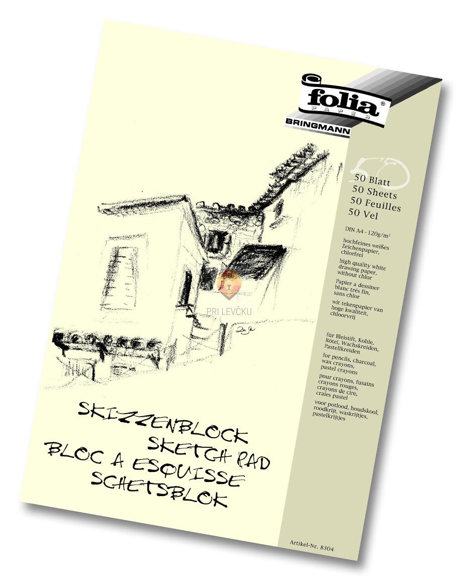 Blok za skiciranje A3 120g/m2 50 listov