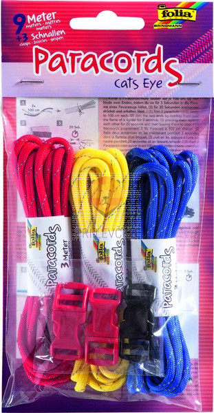 Paracord vrvice Cat's Eye 9 metrov