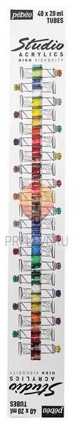 Akrilne barve STUDIO ACRYLICS set 40 x 20 ml